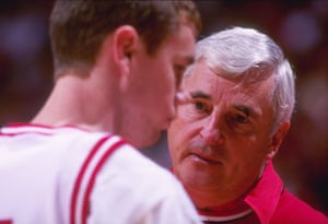 Bobby Knight and Neil Reed