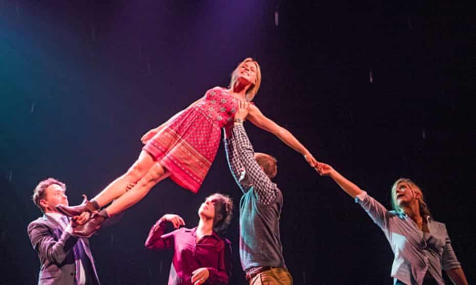 Beautifully staged … Richard Mylan, Kirsty Oswald, Natalie Casey, Matthew Barker and Imogen Stubbs.