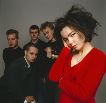 Björk and the Sugarcubes in London, 1986