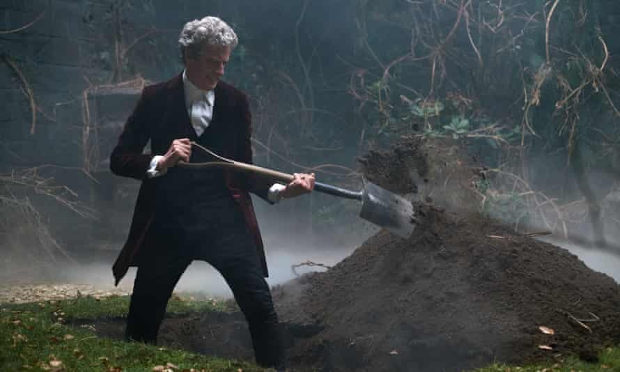 The Doctor digs for victory.