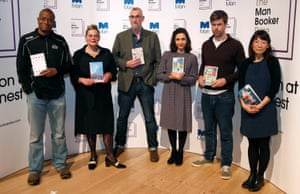 2016 Man Booker finalists