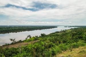 The Congo river from Yangambi, DRC.