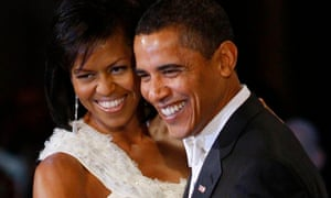 Michelle and Barack Obama January 2009