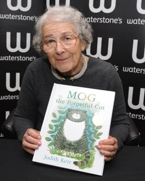 Judith Kerr wrote Mog the Forgetful Cat in 1970. It was the first of an enduring series about Mog based on the succession of cats she owned