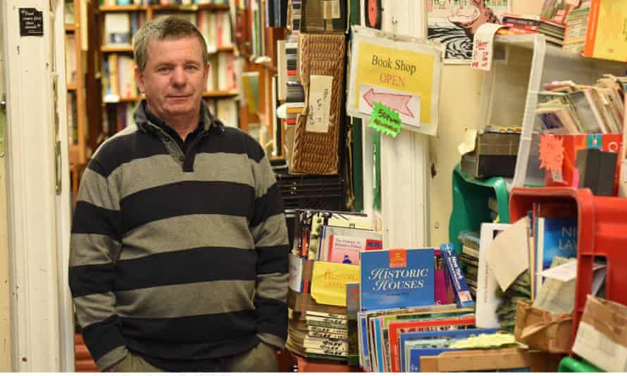 Steve Bloom, who has been described as Britain's rudest bookseller, is selling up.