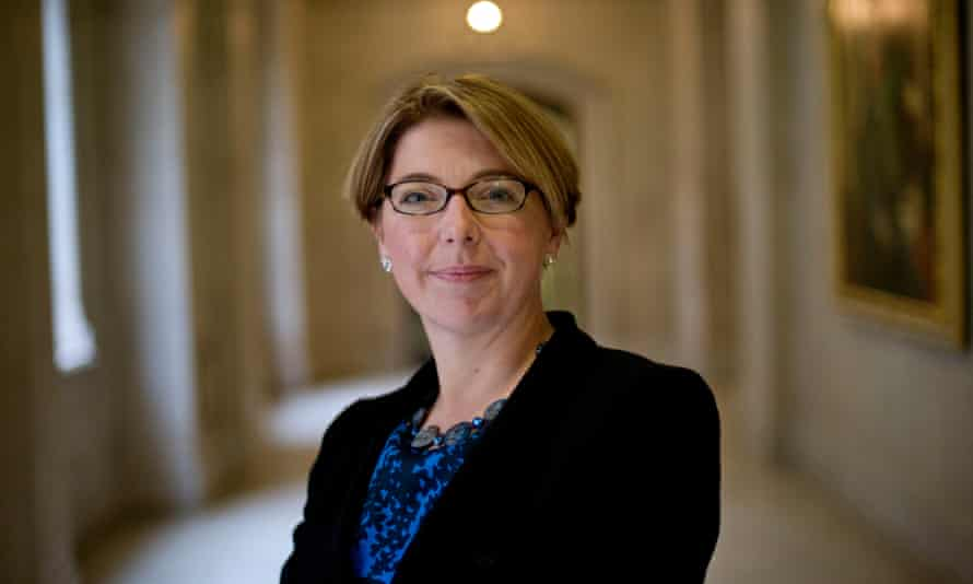 Sarah Breeden, head of international bank supervision at the Bank of England.