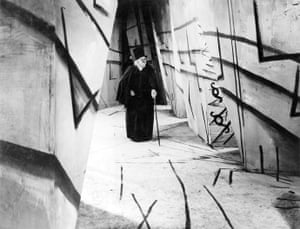 Robert Wiene's The Cabinet of Dr Caligari.