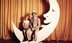 Tatum O'Neal and her father Ryan in Paper Moon.