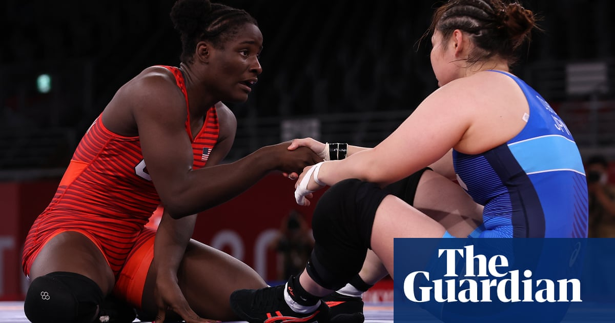 Is US wrestler Tamyra Mensah-Stock the most upbeat athlete at Tokyo 2020?