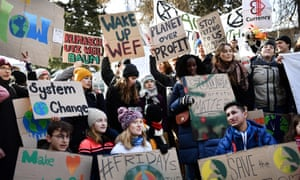 Fridays for Future in Davos