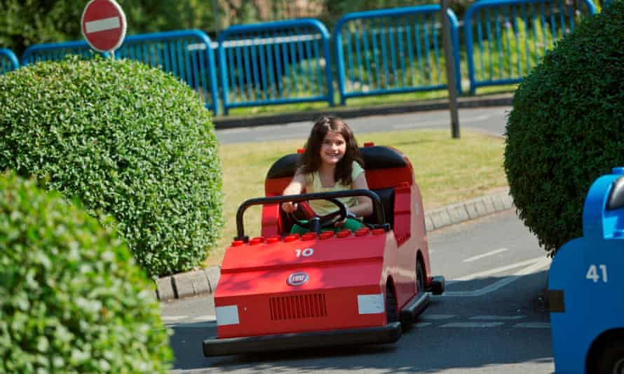 Legoland Windsor driving school.
