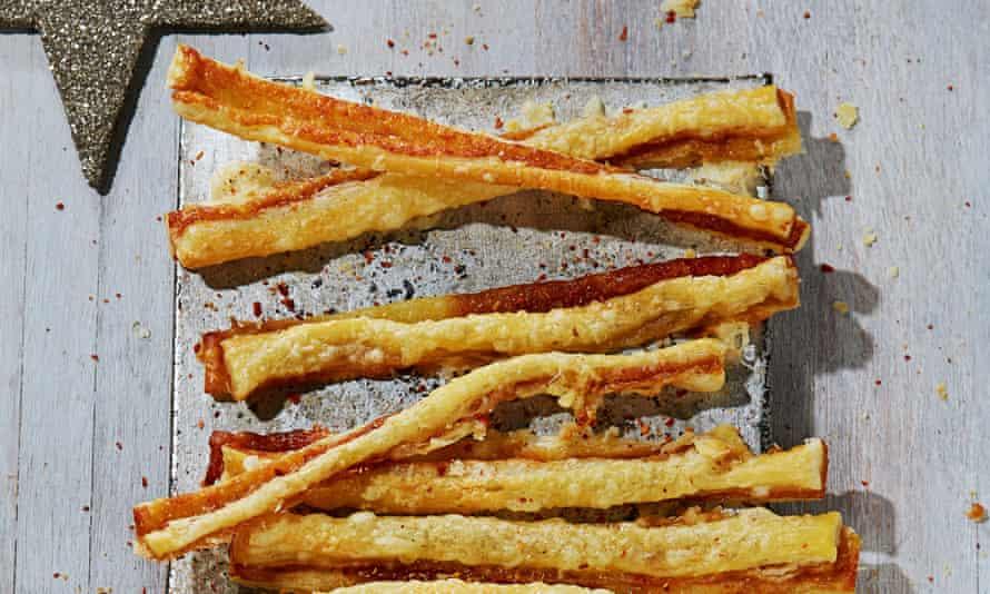 Alvin Caudwell Marmite Cheese Straws