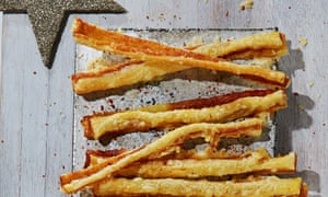 Cheesy Marmite straws from Alvin Caudwell.
