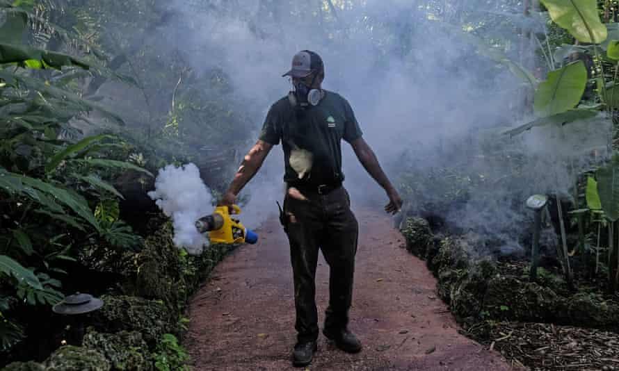 Zika spray Florida Miami