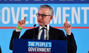 Gove said: 'I'm confident that we will be able not just to leave the EU on January 31 but also to conclude all the details of a new relationship in short order.'