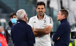Gianluigi Buffon did not get to face Napoli in the end.