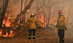 Former fire chiefs have expressed 'huge disappointment' with a lack of leadership during the bushfire crisis.