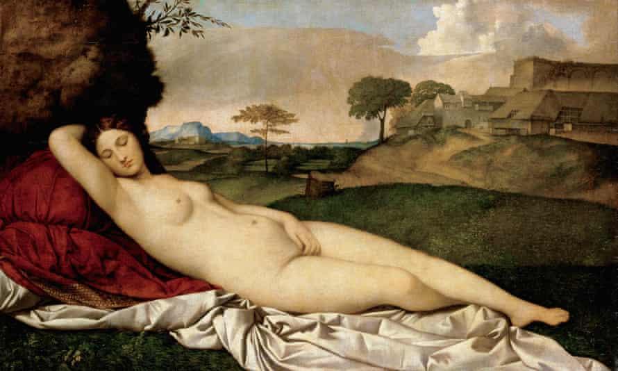 Giorgione's Sleeping Venus.