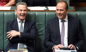 Christopher Pyne and Peter Dutton