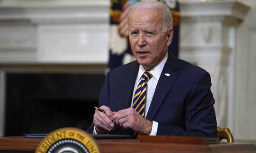 Biden has pushed to establish a $15 hourly minimum wage nationwide for all workers, making it a part of his coronavirus relief package.