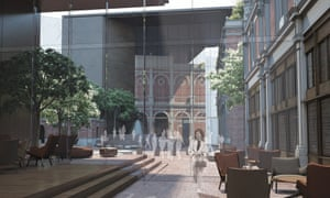 The Studio Milou design for the Museum of London showcases the old Smithfield structures in a new building.