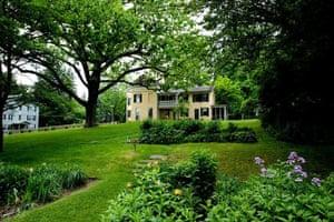 Emily Dickinson's house in Amherst, Massachusetts.