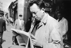 Albert Camus, whose play Les Justes will be staged in a musical version at the Châtelet.
