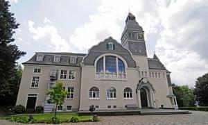 Exterior shot of main building at Zentrum für verfolgte Künste (Centre for persecuted arts), Solingen, Germany