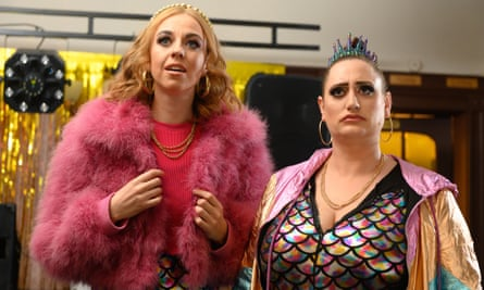 Ellie White and Lauren Socha as Cathy and Cat in The Other One.