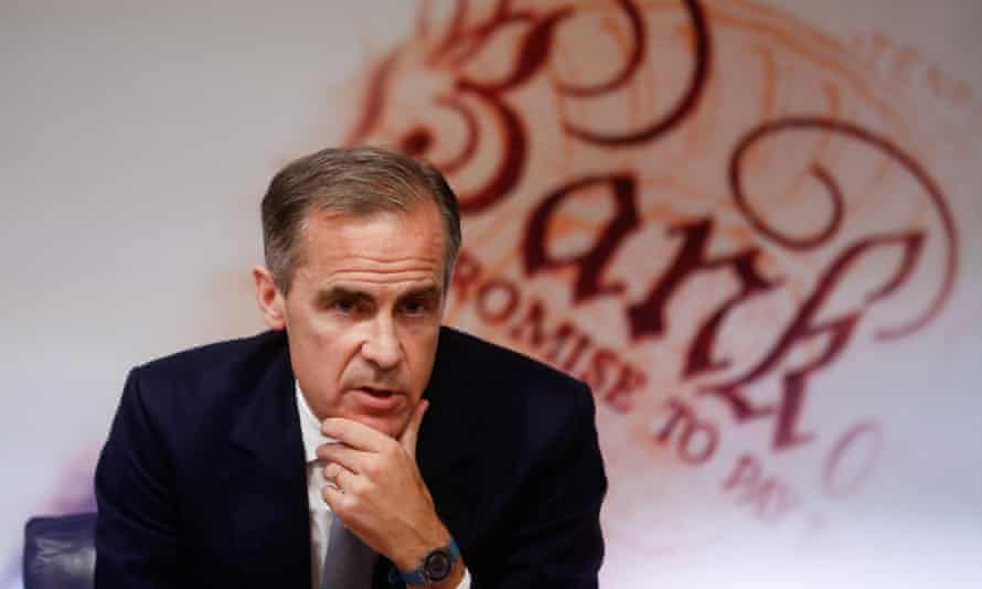 Mark Carney, the Bank of England governor, at the August inflation report.