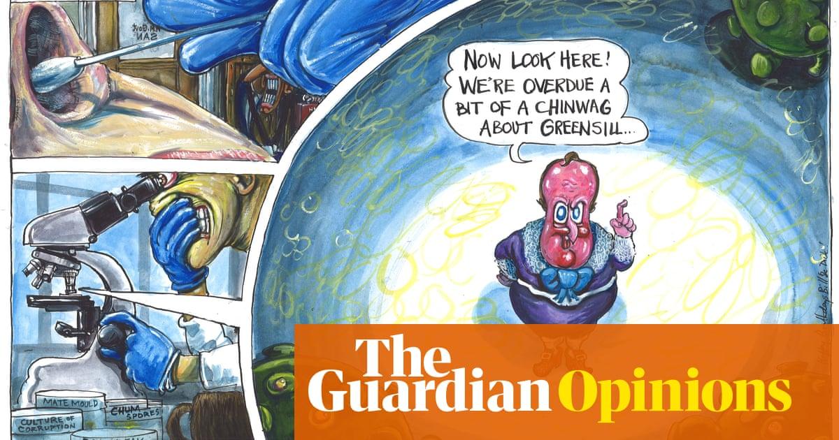 Martin Rowson on David Cameron and the Greensill lobbying scandal – cartoon