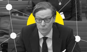 Alexander Nix, the former chief executive of Cambridge Analytica.