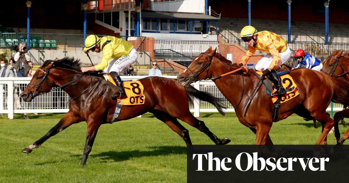 Nahaarr wins Ayr Gold Cup to give Marquand another Saturday success