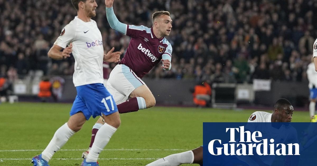 Jarrod Bowen rounds off West Ham's comprehensive victory over Genk