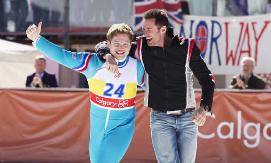 Everyone loves a trier … Eddie the Eagle.