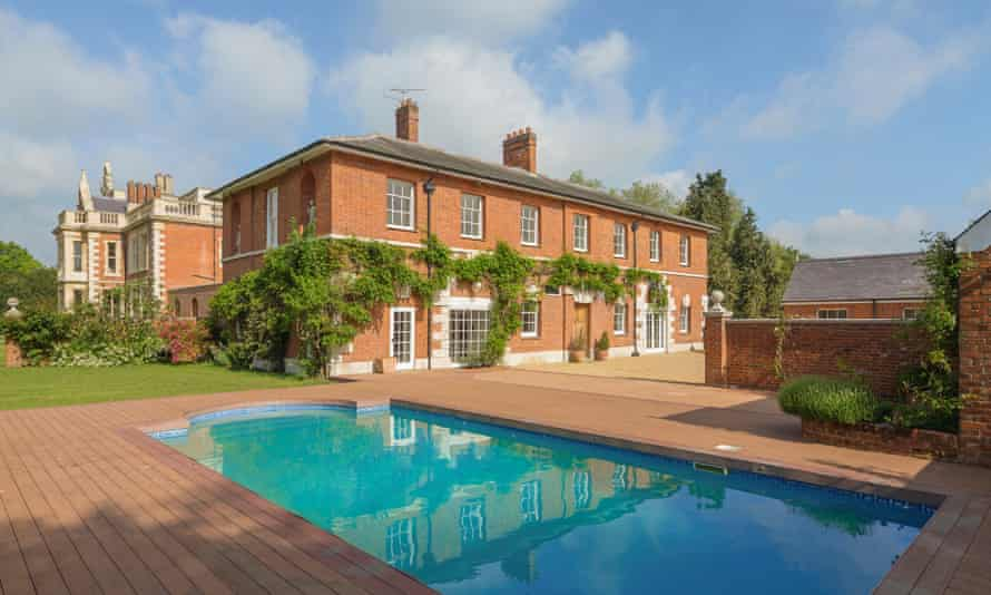Barrington Hall country estate, marketed by Savills.