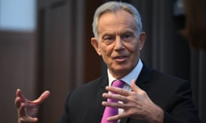 Blair said: 'There are only two people born in the last 120 years who have actually won an election for Labour.'