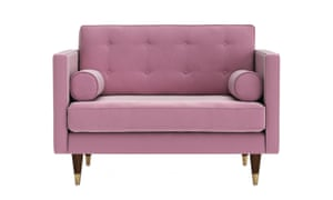 The Porto loveseat from Swoon