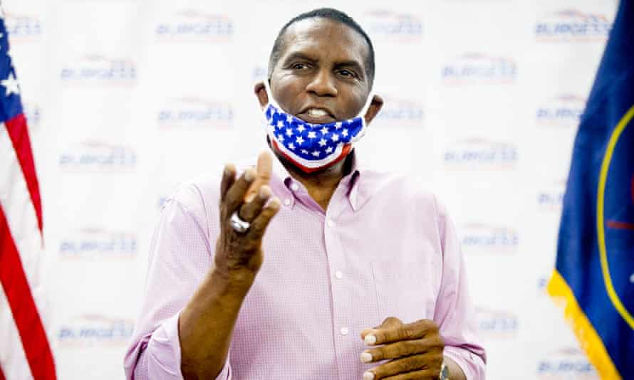 Utah congressman-elect Burgess Owens, a member of the 'Freedom Force' group.