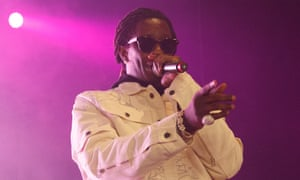 Going through the motions? Young Thug performing at Brixton Academy.