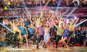The contestants in Strictly Come Dancing 2019.