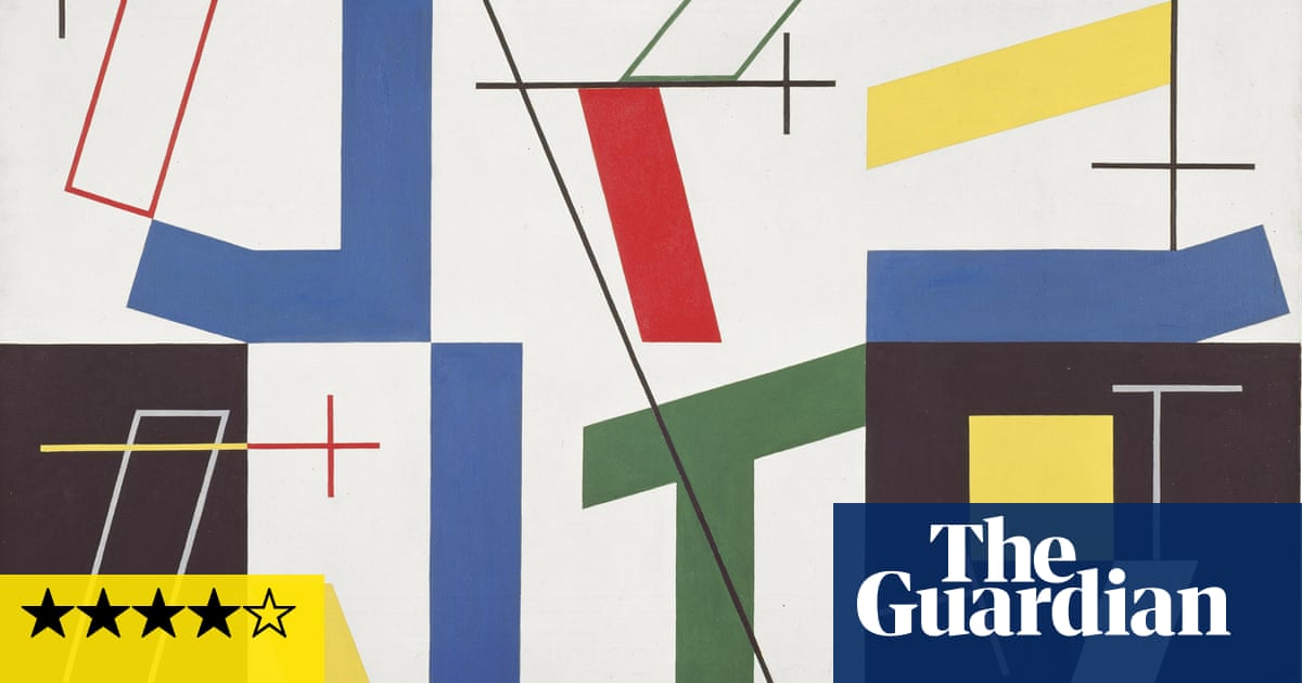 Sophie Taeuber-Arp review – 'Her paintings pop and quiver before your eyes'