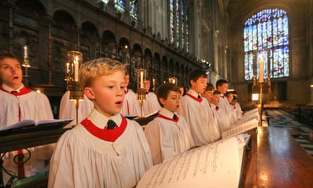 Kings College choirboys