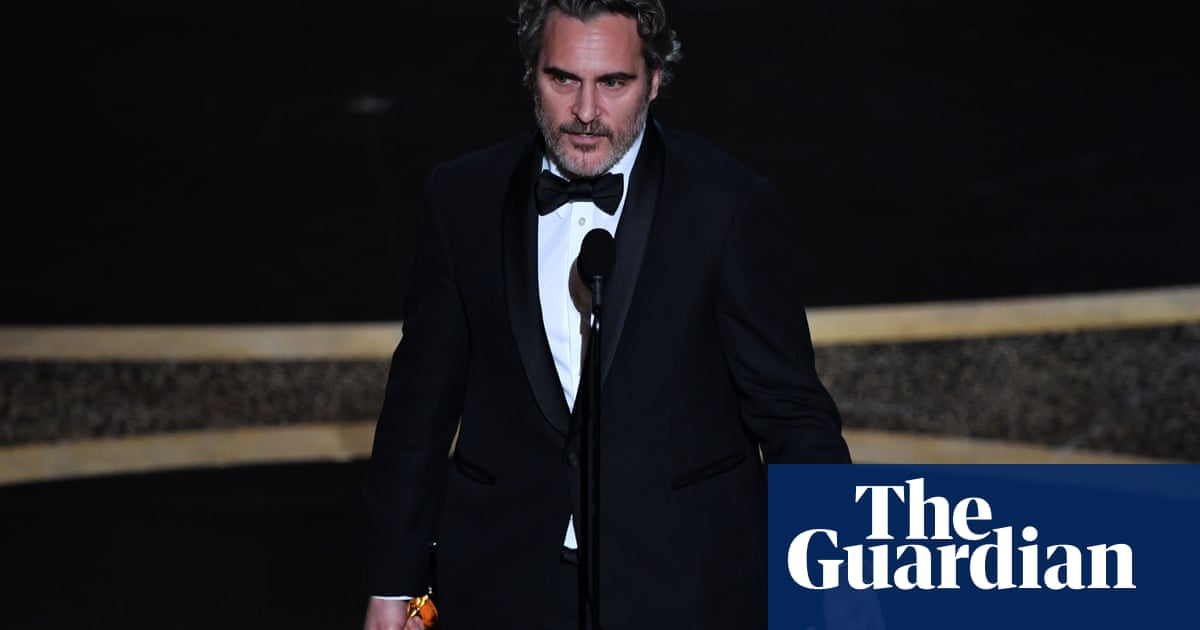 Veganism row breaks out after Joaquin Phoenix is told: be kinder to farmers