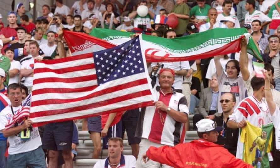 Iran v USA, France 98
