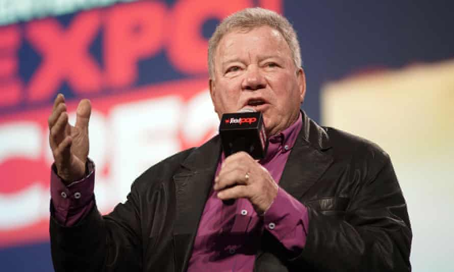 William Shatner in Chicago on 1 March 2020. If the flight takes place, Shatner would become the oldest person to go into space.