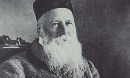 Swiss humanitarian Jean Henri Dunant, founder of the International Red Cross Society and winner of the 1901 Nobel peace prize.