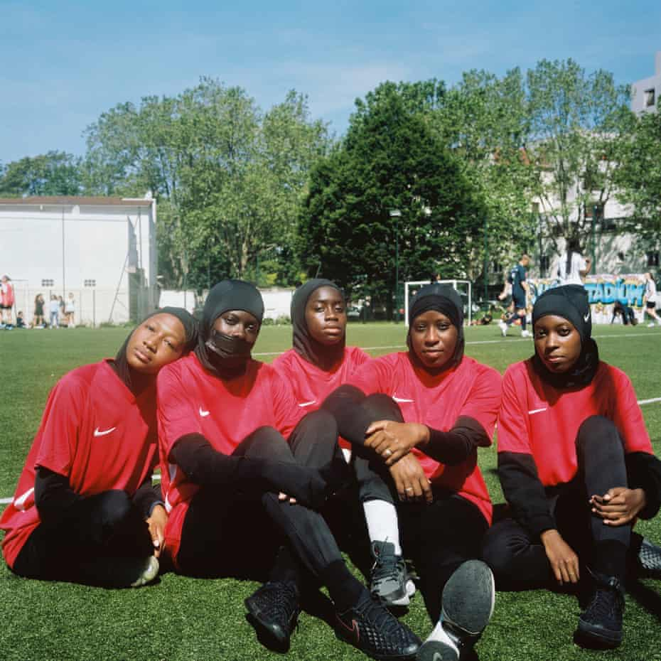 Les Hijabeuses at the Women's Urban Cup