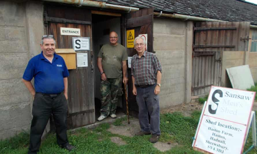 Members of the Sansaw shed in Shropshire.