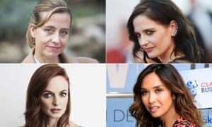 Clockwise from top left: Sophie Dix, Eva Green, Myleene Klass and Heather Graham